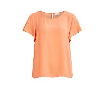 VILA Vilucy t-shirt | rose-brillant | medium