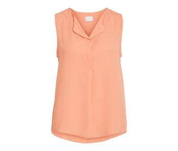 VILA Vilucy top S/S | fel rose | large