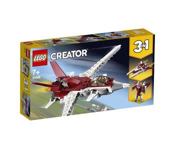 Creator futuristische vliegtuig 31086