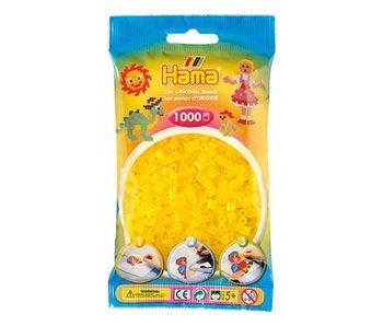 Perles acc Hama 1000 jaune transparent