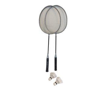 Raquette de badminton 2 pièces