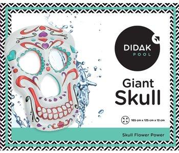 Didak Pool Luchtmatras Gigantische schedel Didak - 165x125x13cm