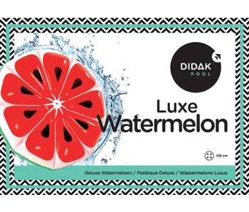 Didak Pool Matelas Pastèque Deluxe Didak - 120x10cm