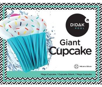 Matelas Giant Cupcake Didak - 148x125cm