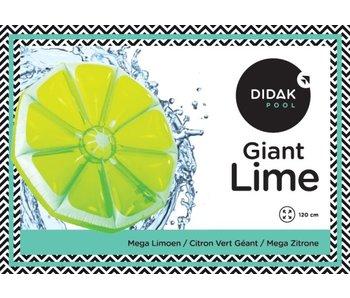 Didak Pool Luchtmatras Mega limoen Didak - 120x10cm