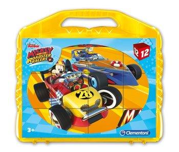 Blokkenpuzzel 12 Mickey Roadster Racers
