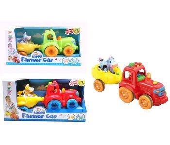 Muzikale Tractor - 1 stuk