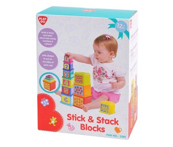 Coller et empiler des blocs