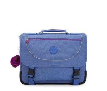 Kipling Preppy Dew Blue - boekentas