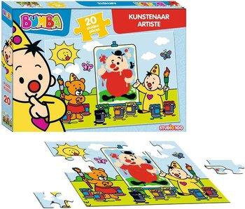 Puzzle Bumba artiste - 20 pièces