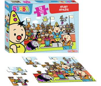 Bumba puzzel Atleet | 12 stukjes