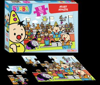 Puzzle Bumba Athlète - 12 pièces
