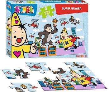 Puzzel Bumba Super Bumba - 9 stukjes