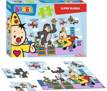 Puzzle Bumba Super Bumba - 9 pièces