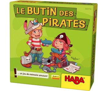 Haba Le butin des pirates | Geheugenspel FR