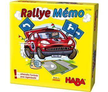 Haba Rallye Mémo | jeu de plateau FR