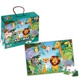 Puzzle animaux 90x60 - 48 pièces