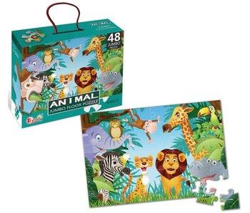 Puzzel dieren 90x60 - 48 st