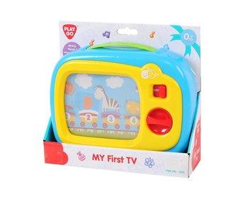 Playgo | Mijn eerste TV - blauw
