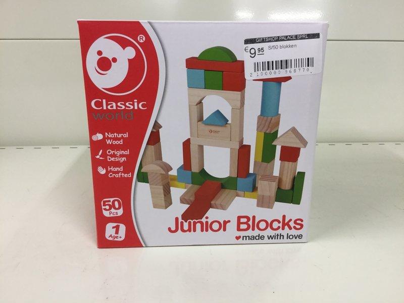 Bricks en bois | 50 pièces