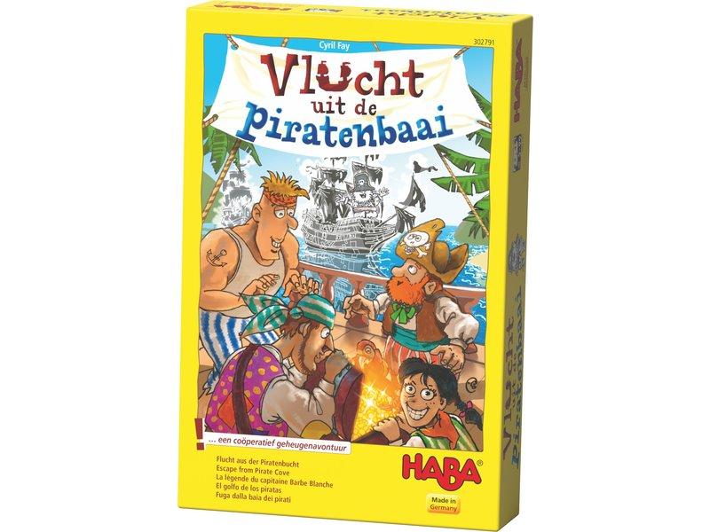 Haba Vlucht uit de piratenbaai | Gezelschapspel NL