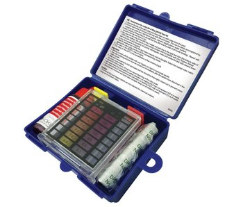 Kit d'analyse pour mesurer le pH et le chlore - 20 cc de rouge de phénol + 20 comprimés de Dpd