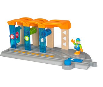 Ravensburger Bio world | Smart tech trein wasstraat