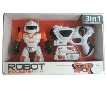 Robot + fusil