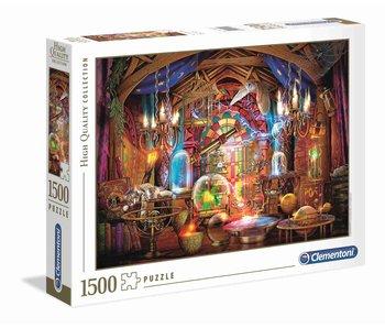 Puzzel HQC tovenaars atelier - 1500 stukjes