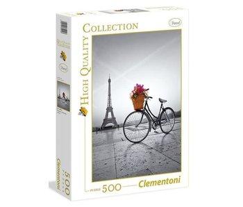 Puzzel HQC Romantische promenade in Parijs - 500 stukjes