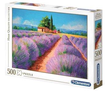 Puzzle HQC parfum Lavande - 500 pièces
