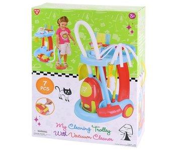 Mon chariot de nettoyage - 7 pièces (sans fonction d'aspiration)