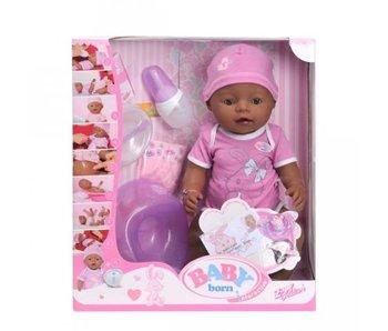 Baby Born Interactieve pop, etnisch 43 cm
