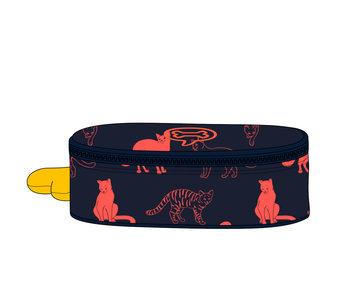 Oak Cats indigo - pennenzak