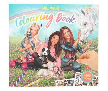 Miss Melody Kleurboek met dieren