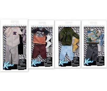 Ken  Fashions Asst. (4 Spring/4 Fall)