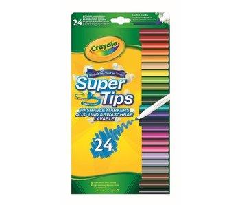 24 Viltstiften met Superpunt