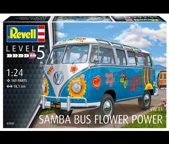 Revell Samba Bus Flower Power 1:24