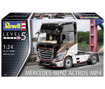 Revell Mercedes Benze Actros MP4 1:24