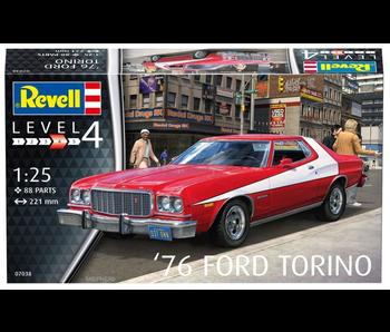 Revell 76 ' Ford Torino 1:25