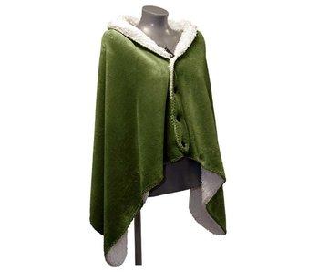 Couverture plaid Coby 75x150 cm - avocat vert