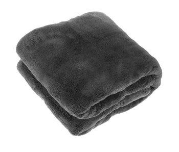 Plaid Justin 150x200 cm - donker grijs