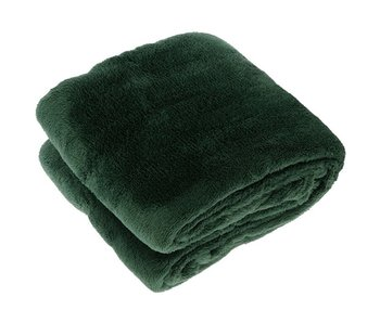 Plaid Justin 150x200 cm - donker groen