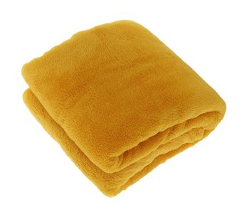Plaid Justin 150x200 cm -  zacht geel