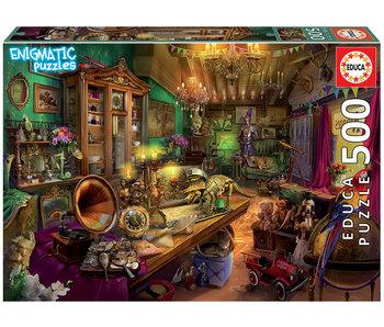 Educa Puzzel Antiekwinkel - Enigmatic Puzzles - 500 stukjes