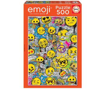 Educa Puzzel Emoji Graffiti - 500 stukjes