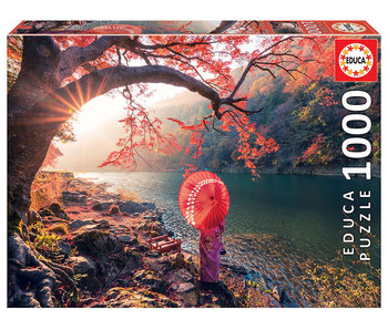 Educa Puzzel Zonsopgang op de Katsura rivier - 1000 stukjes