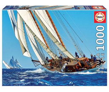 Educa Puzzel Zeilboot - 1000 stukjes