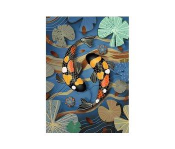 Copy of Dia paint WD223 -Dolfijnen 38x27 cm