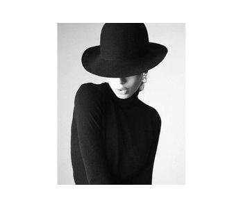 Dia paint WD133 - Lady in black  38x48 cm